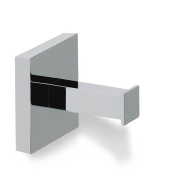 Contemporary Chrome Brass Robe Hook